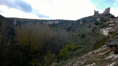 Pelegrina ruta azul