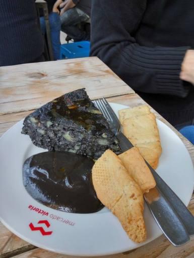 La Salmoreteca, Tortilla de Calamares