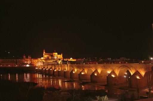Vistas de la Mezquita-Catedral desde el Puente Romano